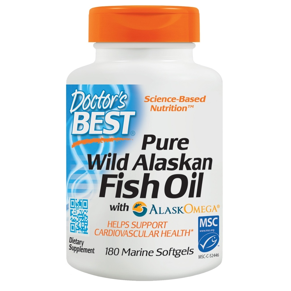 Buy doctor 39 s best pure wild alaskan fish oil with for Alaska fish oil