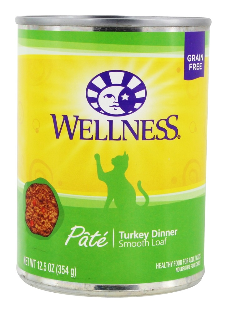 buy wellness pet grain free smooth loaf pate cat food turkey dinner 12 5 oz at. Black Bedroom Furniture Sets. Home Design Ideas