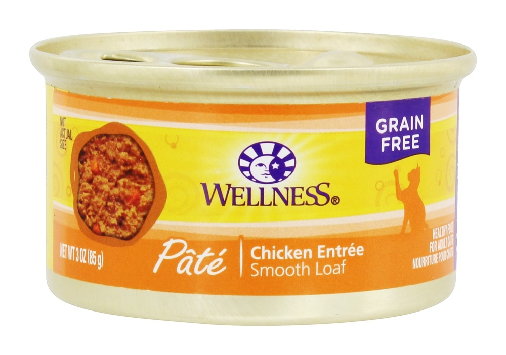 Buy Wellness Pet Grain Free Smooth Loaf Pate Cat Food
