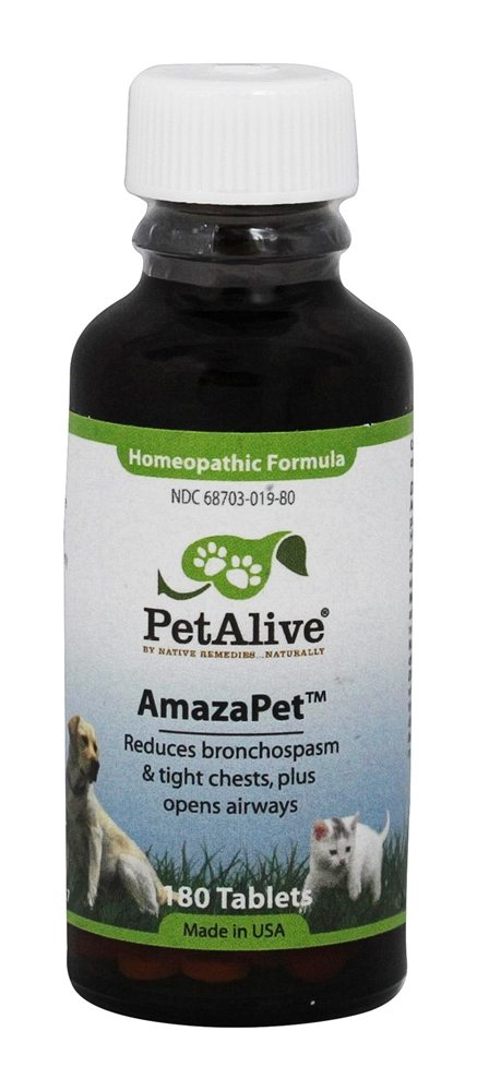 Buy Pet Alive - AmazaPet - 180 Tablet(s) at LuckyVitamin.com