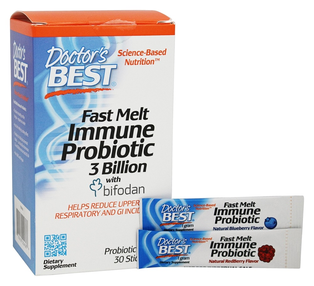 Fast Melt Immune Probiotic 3 Billion with Bifodan - $19.90