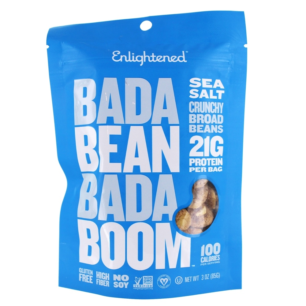 Buy Enlightened - Roasted Broad Bean Crisps Sea Salt - 3 ...