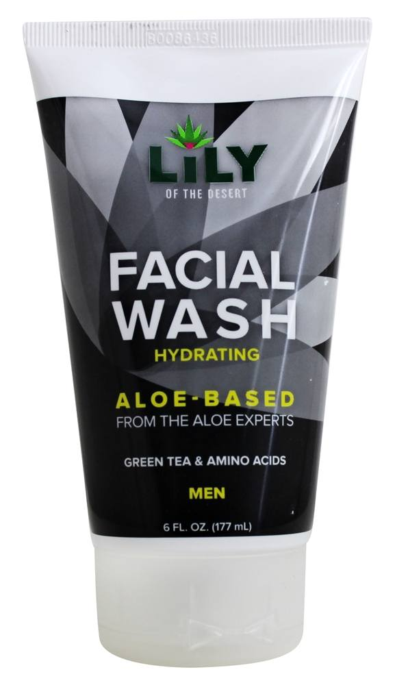 Lily of desert aloe facial wash
