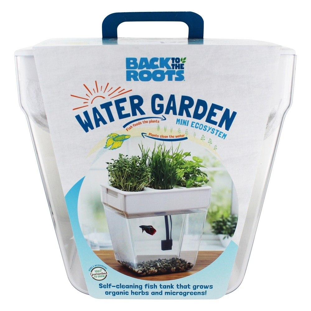 Buy Back To The Roots Water Garden Self Cleaning Fish Tank 2 0 3 Gallons At