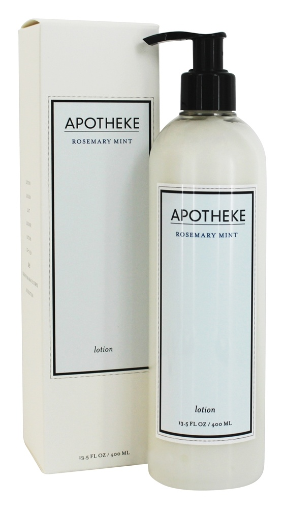 Buy Apotheke - Lotion Rosemary Mint - 13.5 fl. oz. at LuckyVitamin.com
