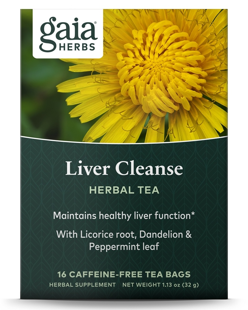 Tea for liver health