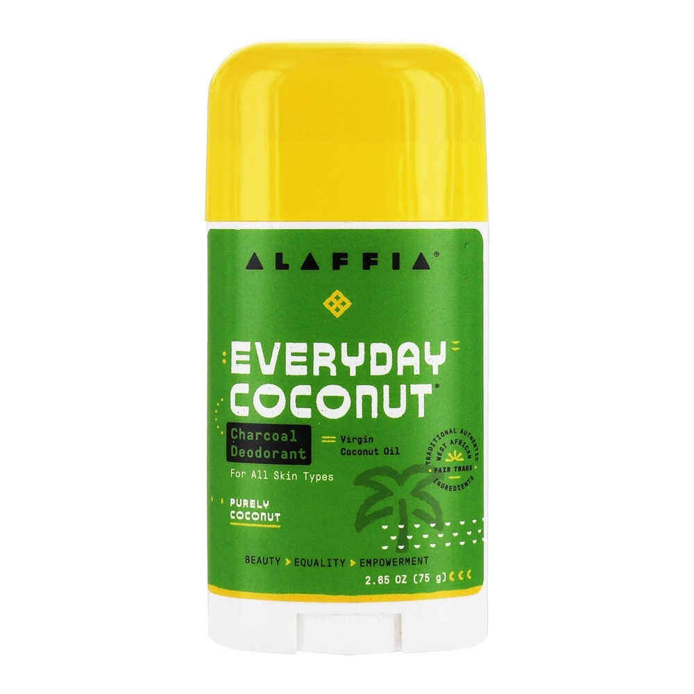 Buy Alaffia Deodorant With Activated Charcoal Amp Reishi