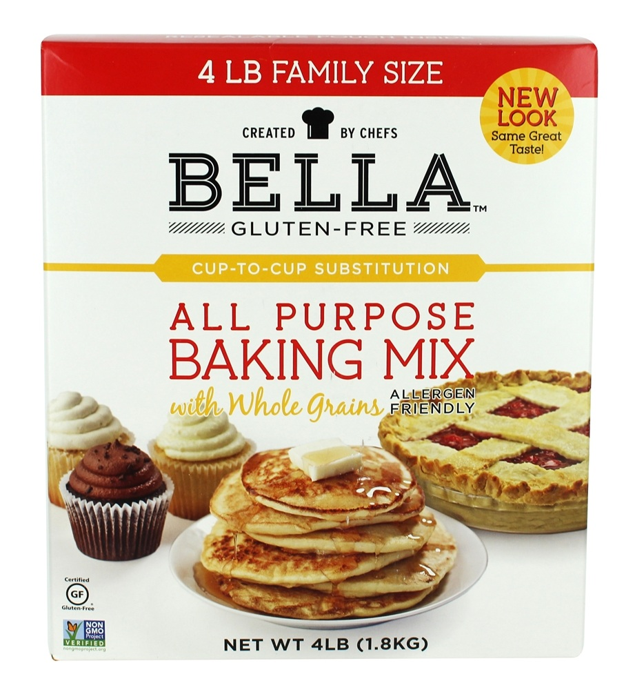 Buy bella gluten free all purpose baking mix with whole for Atkins cuisine all purpose baking mix where to buy