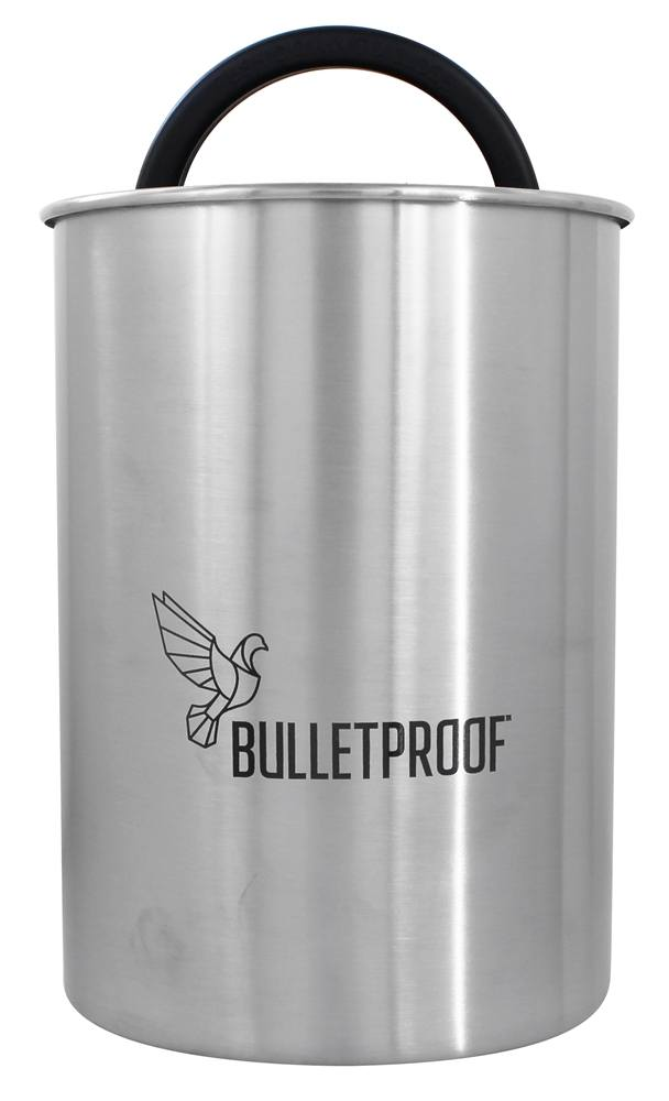 buy bulletproof airscape kitchen canister 64 oz at airscape 174 glass kitchen canisters for food storage