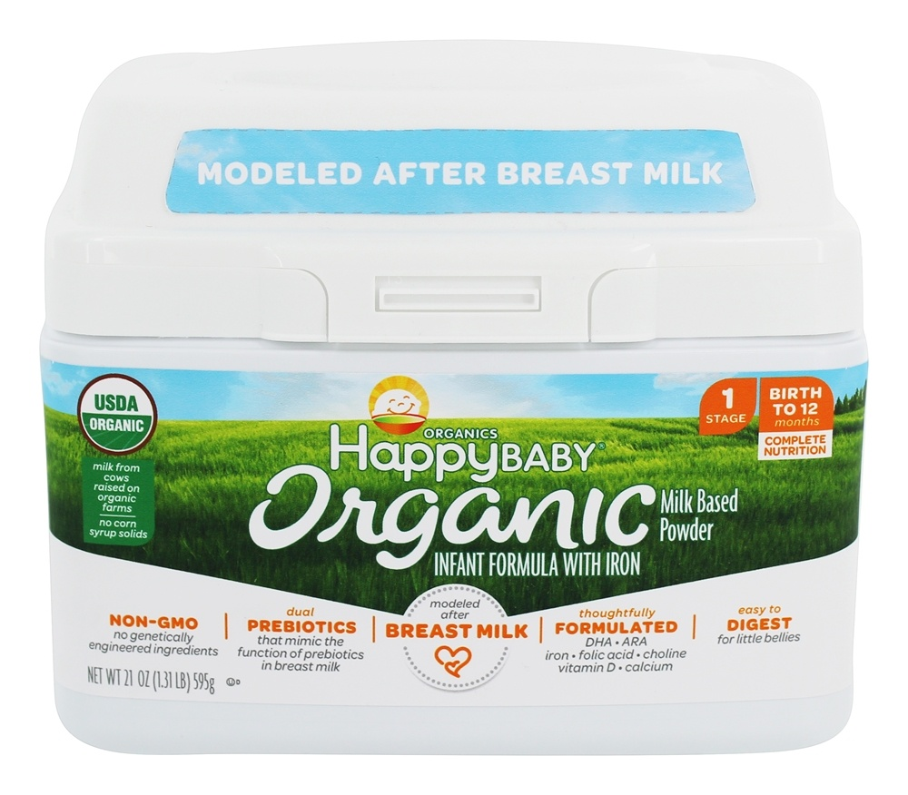 Buy Happy Family Happy Baby Stage 1 Organic Milk Based