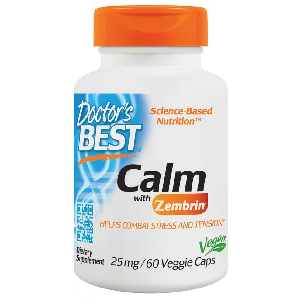 buy doctor s best calm with zembrin 25 mg 60