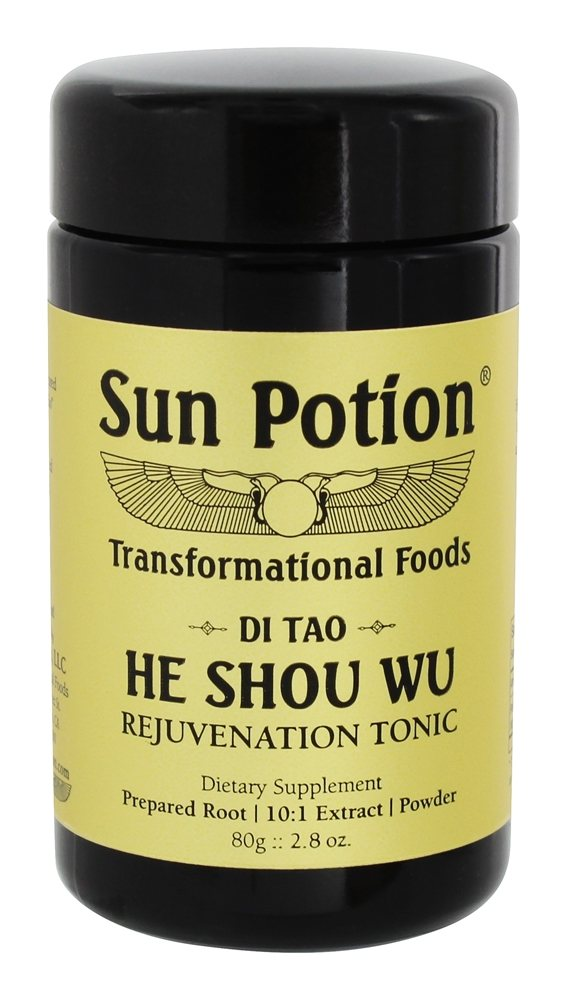 Buy Sun Potion He Shou Wu Rejuvenation Tonic 2 8 Oz At