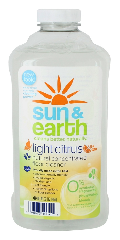 Concentrated Floor Cleaner Light Citrus