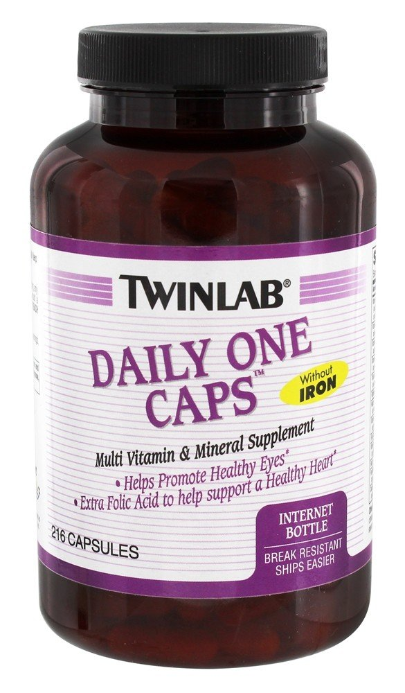 Buy Twinlab Daily One Multi Vitamin Amp Mineral Supplement