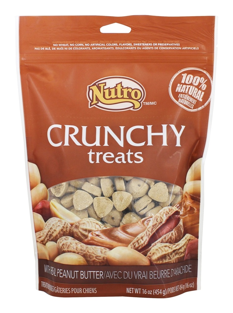 Buy Nutro - 100% Natural Crunchy Dog Treats with Real