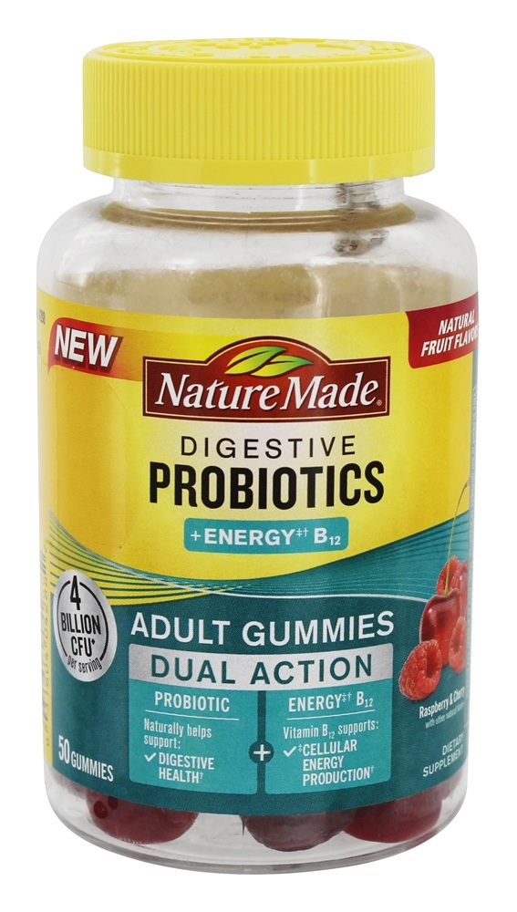 Nature Made Advanced Dual Action Probiotic provides two high-quality, scientifically-studied probiotics to help support digestive balance and a healthy gut flora, providing comprehensive support for .