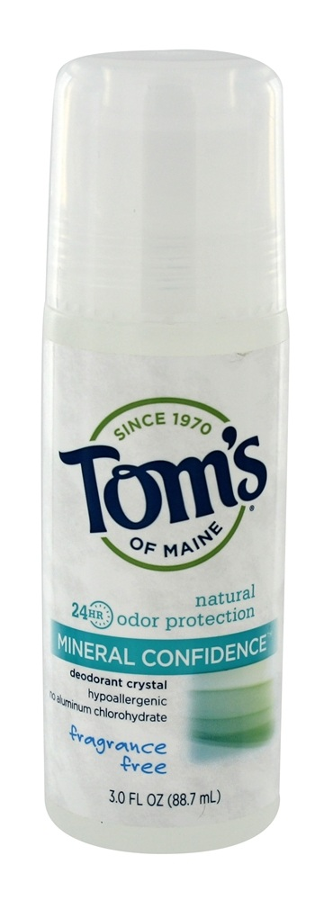 Tom S Of Maine Mineral Confidence Natural Deodorant