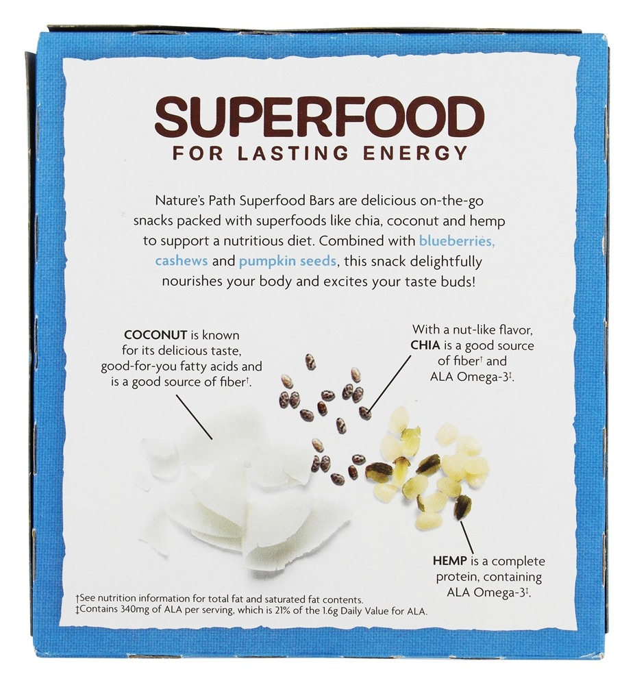Nature S Path Superfood Bars