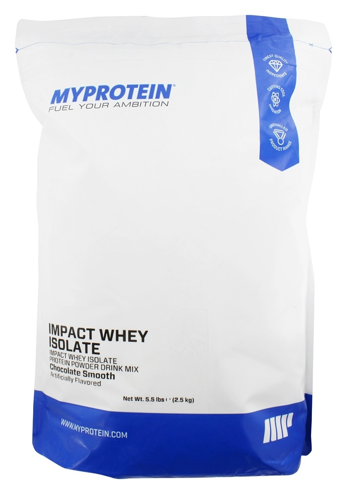 Buy MyProtein - Impact Whey Isolate Chocolate Smooth - 5.5