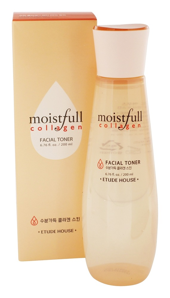 Etude House, Moistfull Collagen Facial Toner, 6.76 fl oz (pack of 1) LUX Allure Ageless Eye Serum- Premium Under Eye Treatment- Advanced Anti-Aging Formula Restores Hydration and Youthful Glow to Skin (.5 ounce)