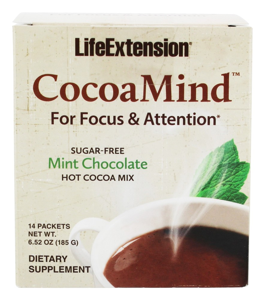 Buy Life Extension - CocoaMind Hot Cocoa Mix Mint ...
