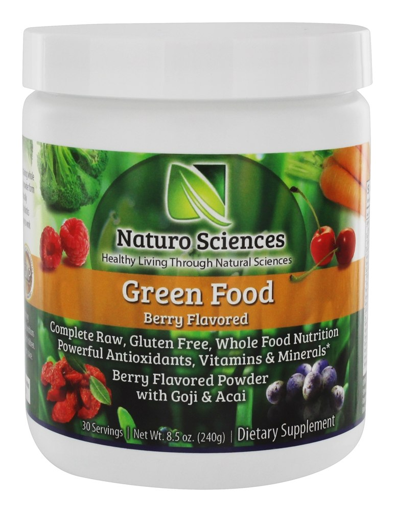 Buy Naturo Sciences Green Food Berry 8 5 Oz At Luckyvitamin Com