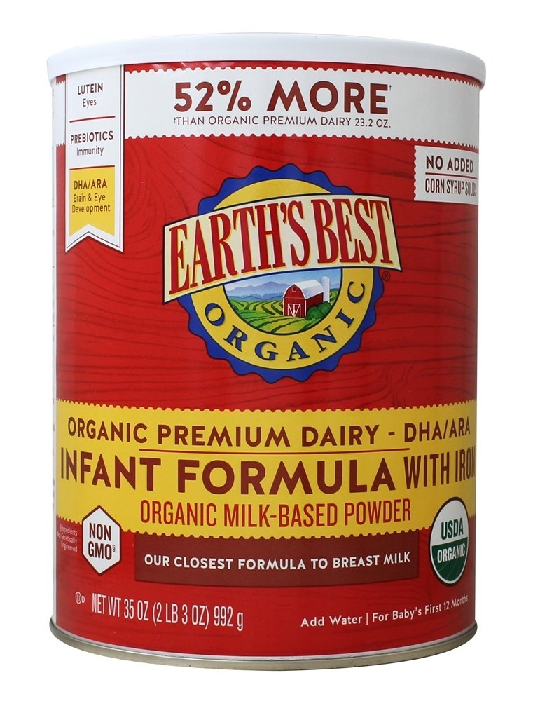 Buy Earth S Best Organic Dairy Infant Powder Formula