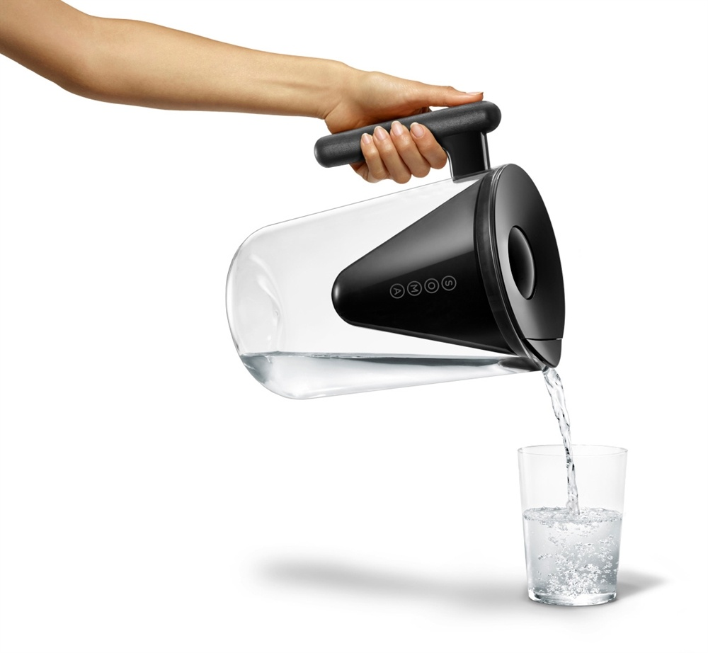 Buy Soma Water Filter Pitcher Black 10 Cup S At
