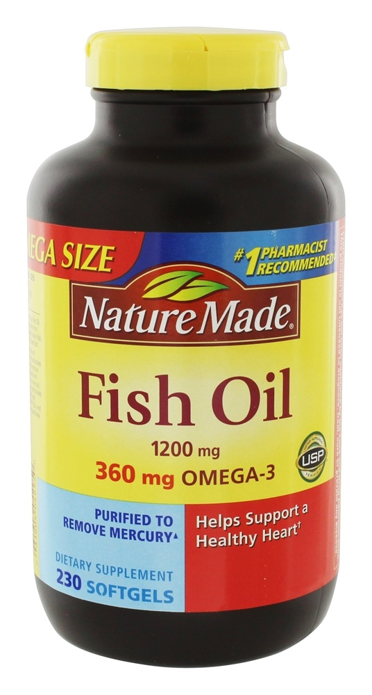 Does Nature Made Fish Oil Contain Vitamin A