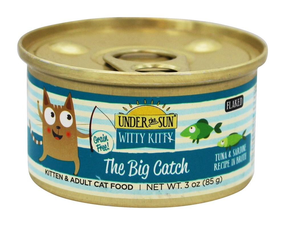 Witty Kitty Cat Food