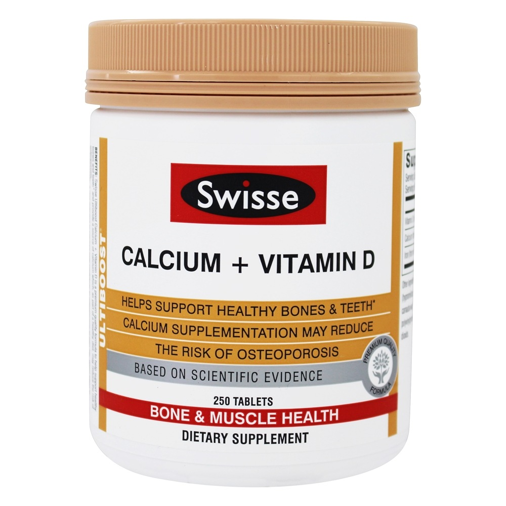 Ultiboost Calcium + Vitamin D - 250 Tablet(s) by Swisse