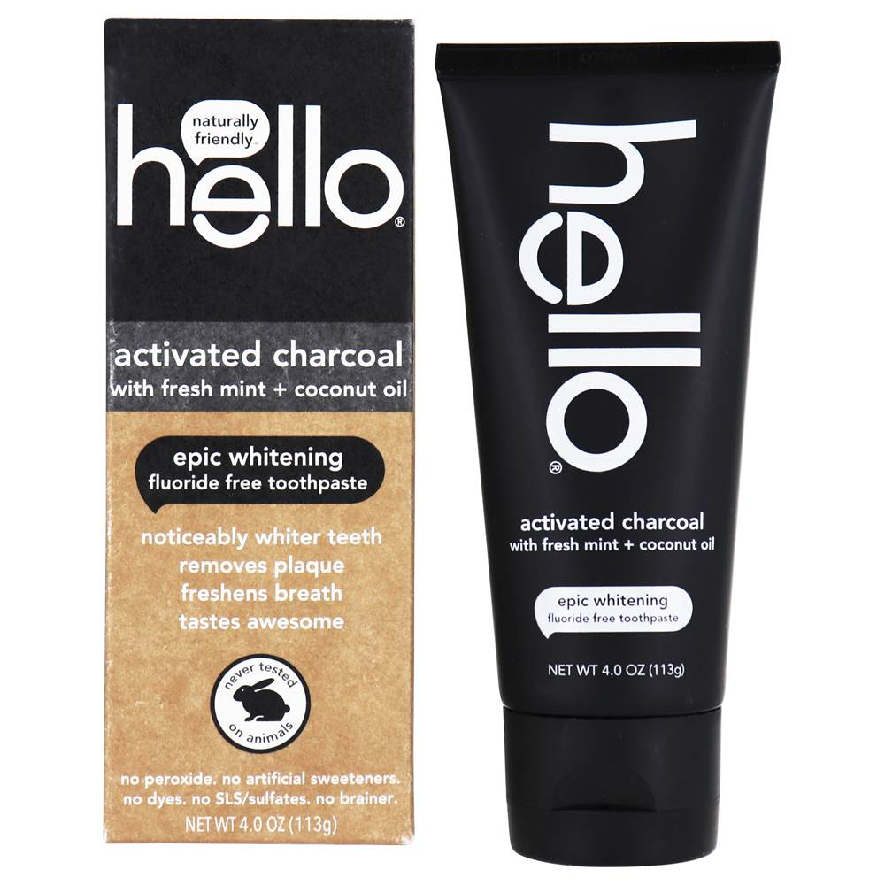 Buy Hello Products Fluoride Free Whitening Toothpaste With