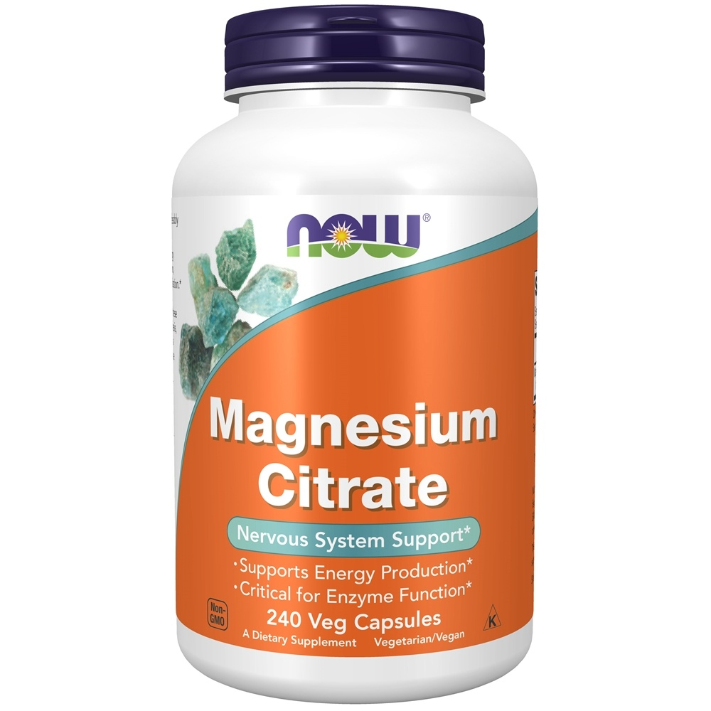Buy Now Foods Magnesium Citrate Nervous System Support