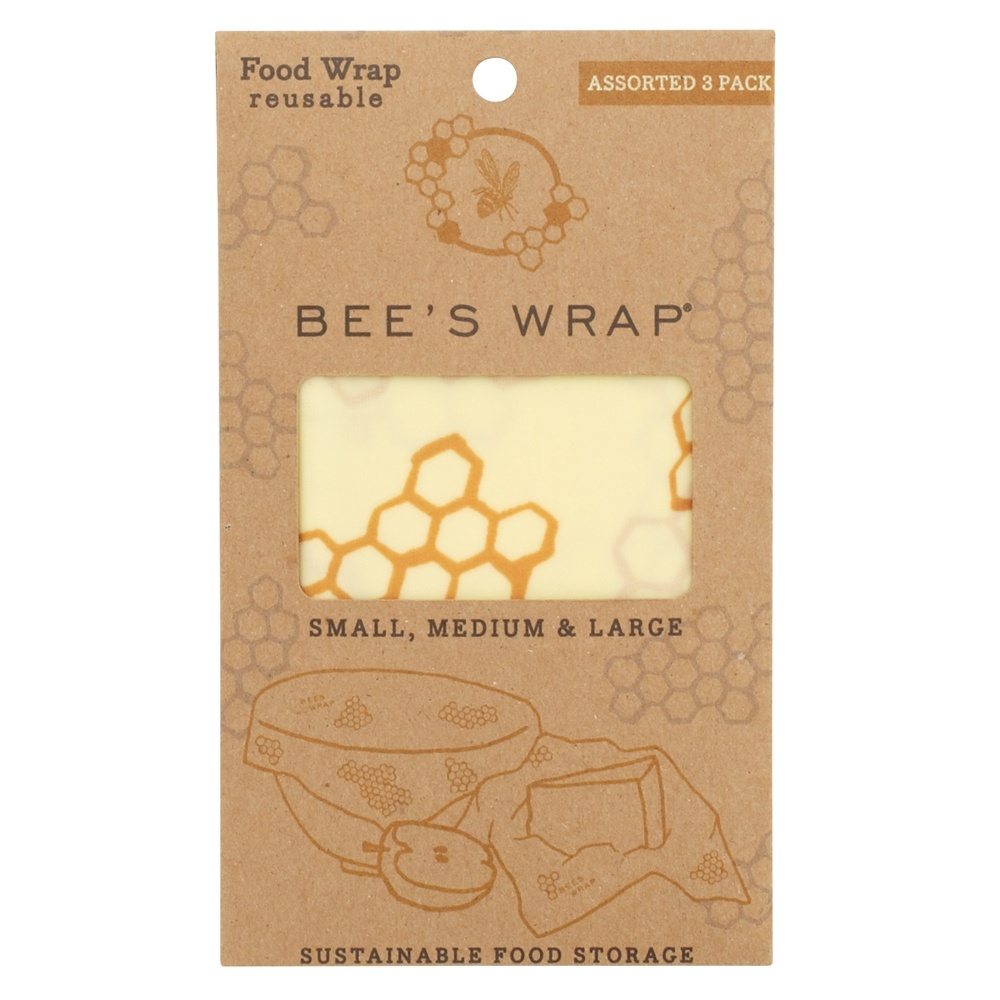 buy bee 39 s wrap reusable food wraps assorted sizes small. Black Bedroom Furniture Sets. Home Design Ideas