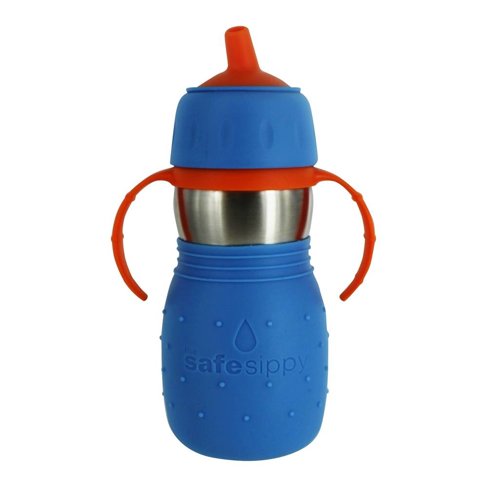 Kid Basix by New Wave Safe Sippy Stainless Steel Sippy Cup for Baby /& Toddler