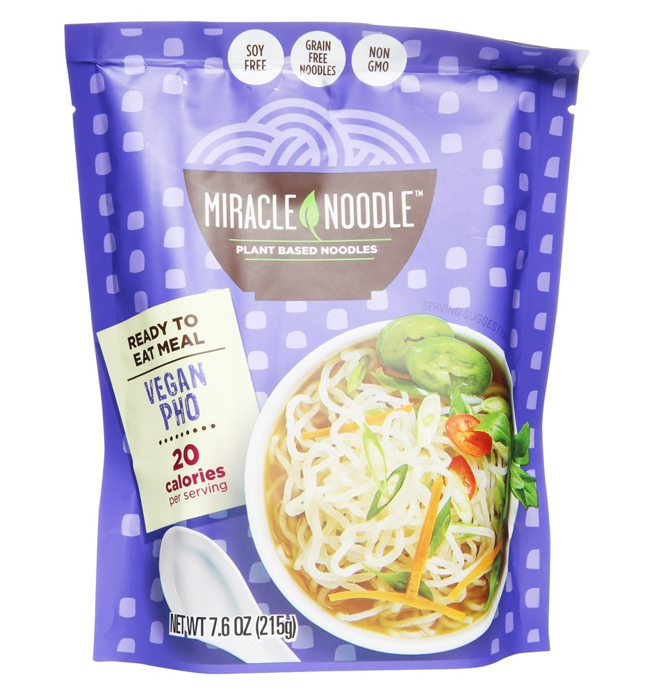 Vegan Ready to Eat Meal Pho - 8 oz Miracle Noodle