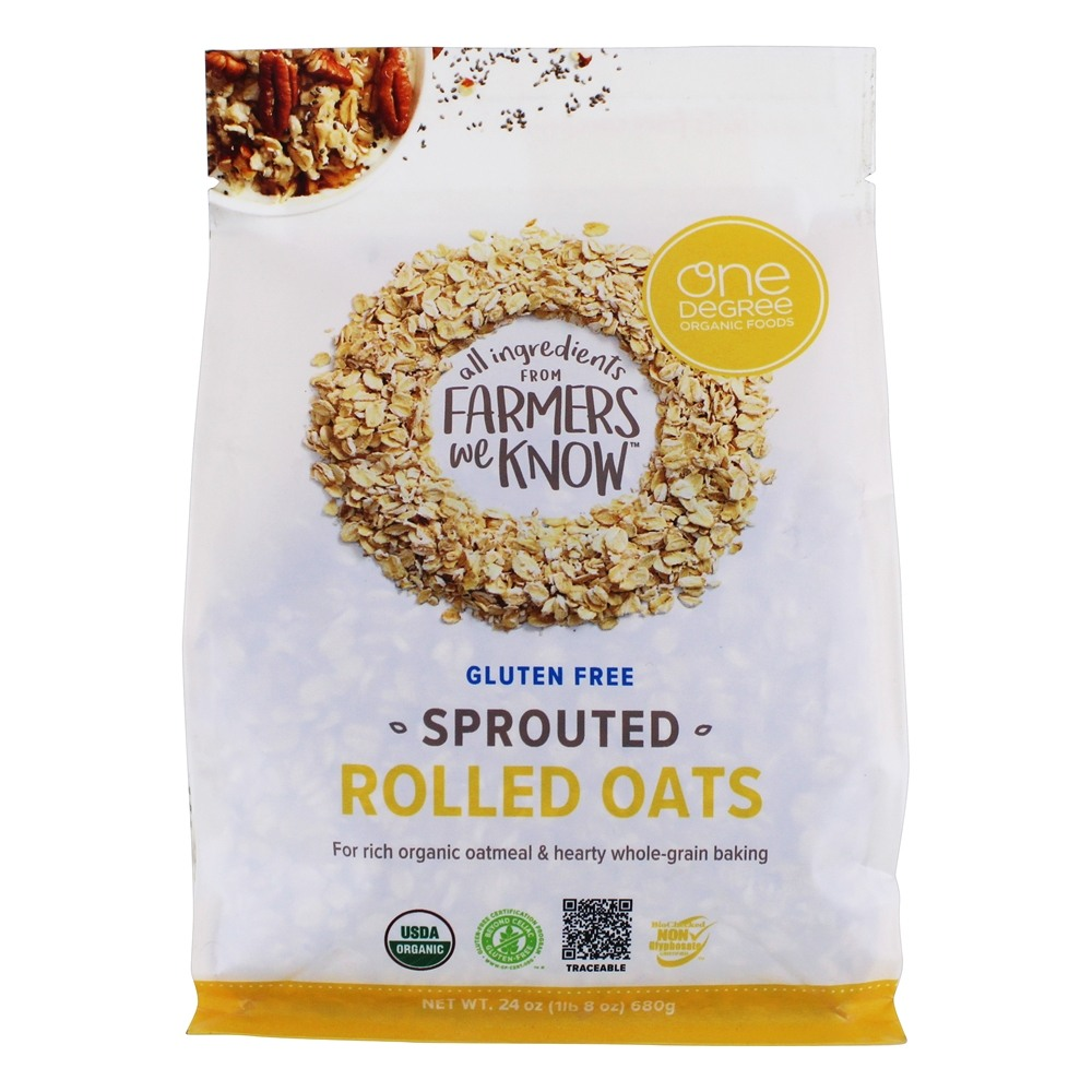 Buy One Degree Organic Foods - Gluten Free Sprouted Rolled ...