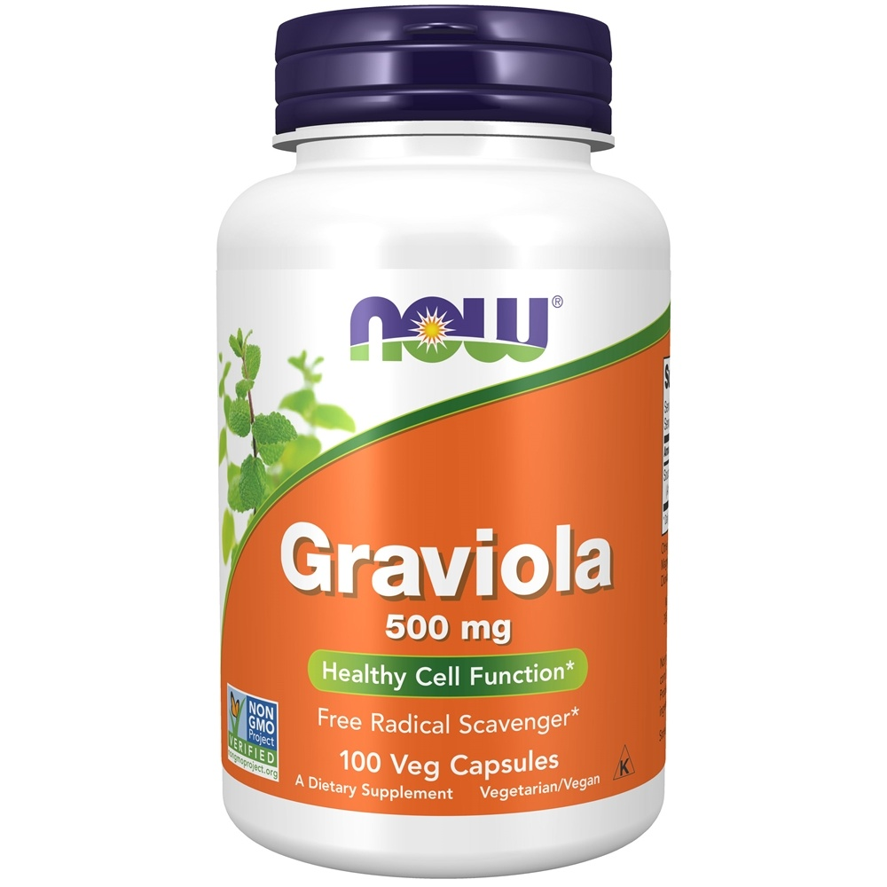 Buy Now Foods Graviola 100 Capsules At Luckyvitamin Com