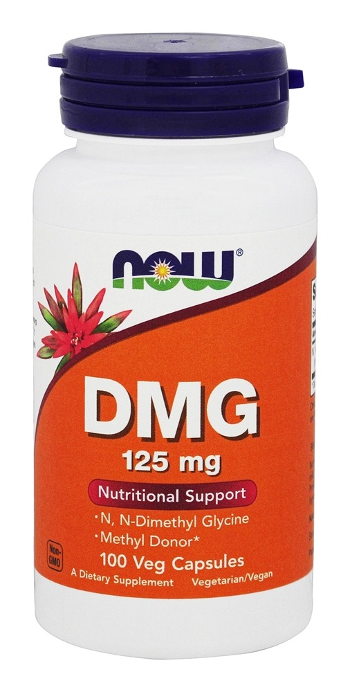 Buy NOW Foods - DMG 125 mg  - 100 Capsules at LuckyVitamin com
