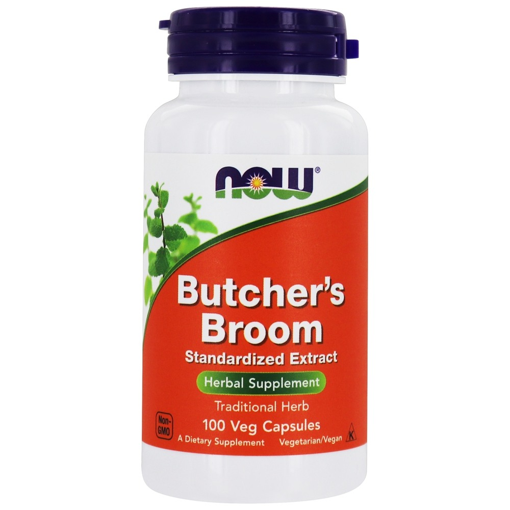 Buy Now Foods Butcher S Broom 200 Mg 100 Capsules At