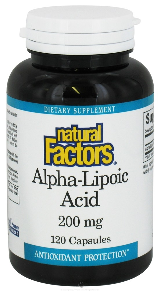 Alpha-Lipoic Acid 200 Mg.