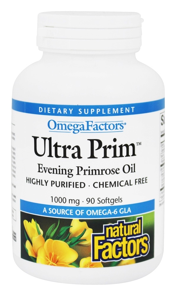 Natural Factors Evening Primrose Oil Mg
