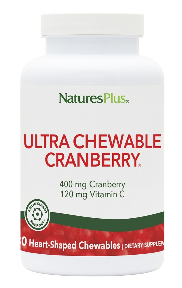 Nature S Plus Chewable Cranberry