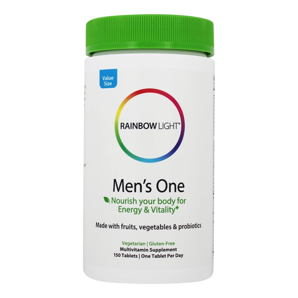Buy Rainbow Light Men S One Food Based Multivitamin