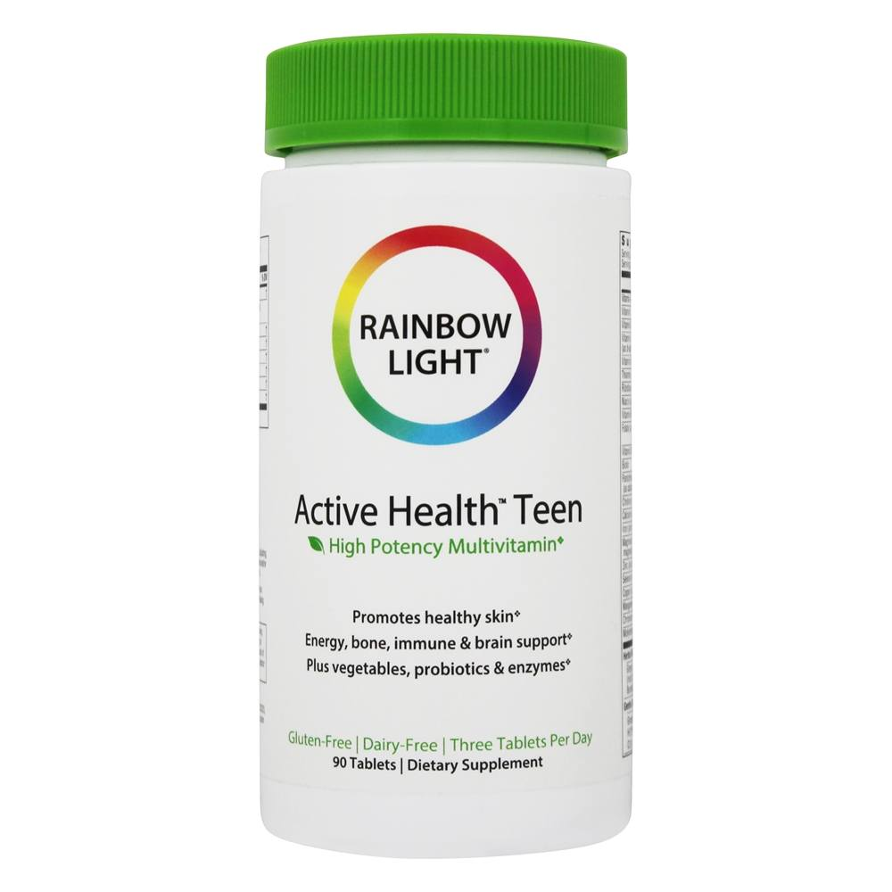 buy rainbow light active health teen multivitamin 90 tablets at. Black Bedroom Furniture Sets. Home Design Ideas