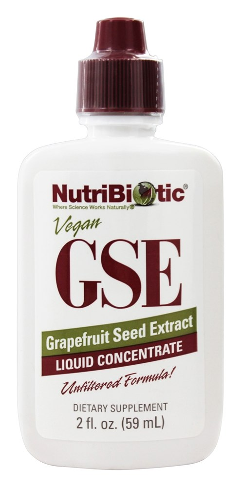 GSE - Grapefruit Seed Extract Liquid Concentrate - 2 fl  oz  by Nutribiotic