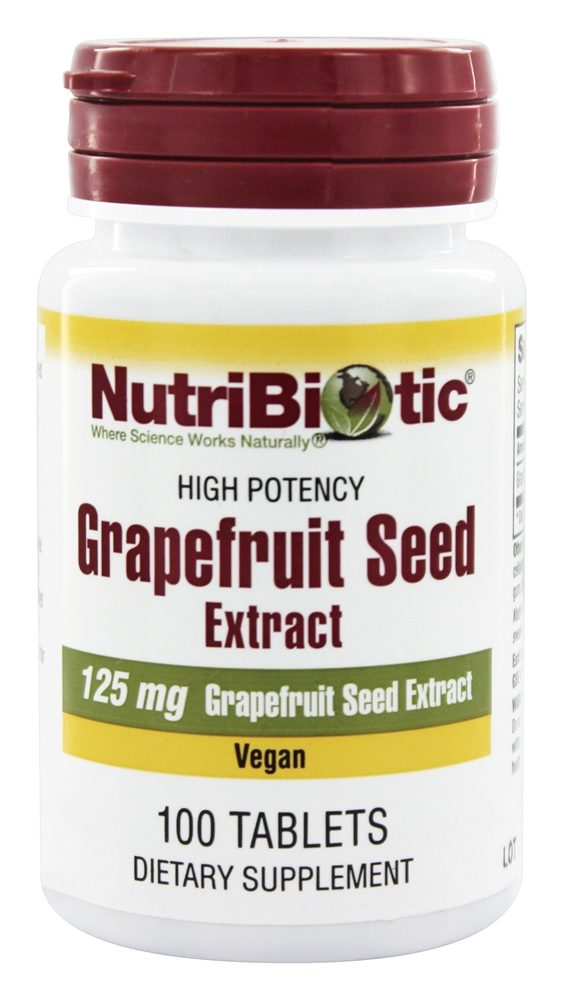 Buy Nutribiotic - GSE Grapefruit Seed Extract 125 mg ...