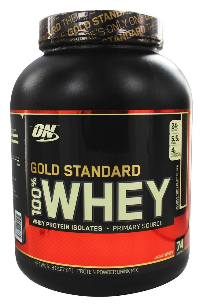 f81a74776 Buy Optimum Nutrition - 100% Whey Gold Standard Protein Double Rich  Chocolate - 5 lbs. at LuckyVitamin.com