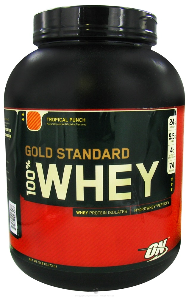 Optimum Nutrition %100 Whey Tropical Punch Review ...