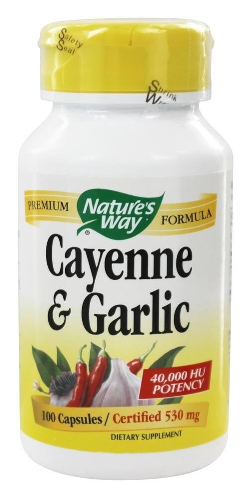 Nature S Way Cayenne And Garlic